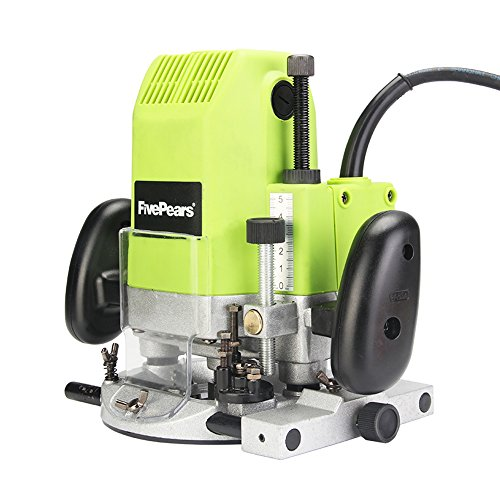 FivePears 220V 1850W Horsepower Variable Speed Router Electric Router Tool Woodworking