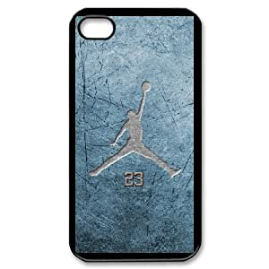 Michael Jordan for iPhone 4,4S Cell Phone Case & Custom Phone Case Cover R27A650522