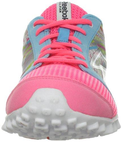 Reebok 0 watery Blue so Pink Realflex De tin Grey Chaussure Zing Cri Sherbet 2 Course shocking 44Bgq