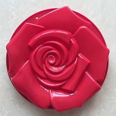 Silicone Cake Bundt Pan Rose Flower Shaped Bakeware Muff Mould Shape Bread Pastry Mold Tray Baking - Heritage Fat Quarter Bundle
