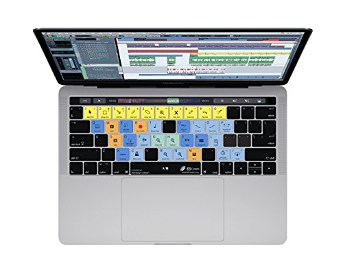 Cubase Keyboard Cover for MacBook Pro  w/ Touch Bar