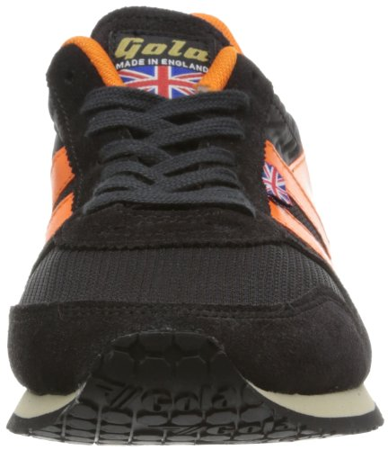 Gola Hommes Pacer Mode Sneaker Anthracite / Orange