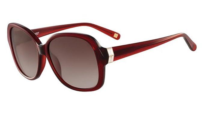 Gafas de sol NINE WEST NW590S 612 CRYSTAL RUBY: Amazon.es ...