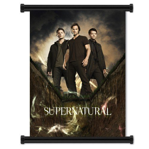 Supernatural TV Show Fabric Wall Scroll Poster (32