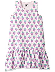 Amazon/ J. Crew Brand- LOOK by Crewcuts Girls' Ruffle Hem Tank Dress