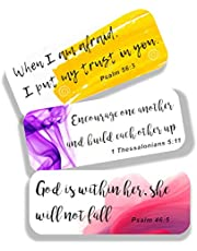 Bible Verse Stickers (Set of 42 Stickers with 21 Christian Scripture )