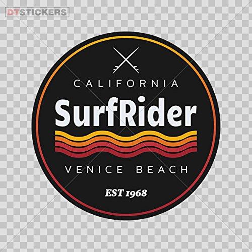 Decoration Vinyl Sticker California Surf Rider Extreme Water Sports Summer Venice Beach Decoration M D217 - Beach Salt Venice