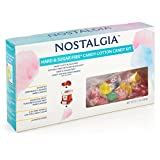 Nostalgia HCK800 Hard & Sugar-Free Candy Cotton Candy Party Kit
