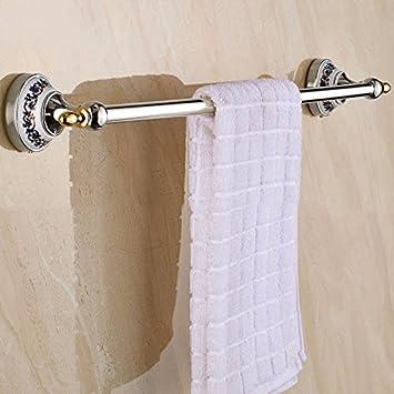 Amazon.com: MBYW toallero Accesorios de baño punzonado ...