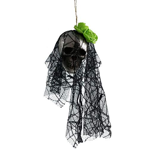 Costume For Et On Halloween Crossword (Fan-Ling 2019 New Halloween Hanging Decor,Pirates Corpse Skull Haunted House Bar Home Garden Decor,Foam Wacky Funny Novelty Skull Toys,Halloween Props,Halloween Fake Skull)