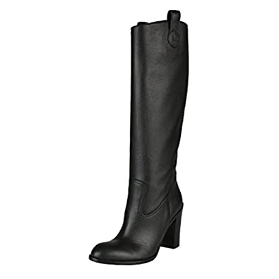 1999886431712 Amazon.com: Gucci Women's Black Leather High Heel Boots Shoes US 9 ...