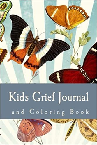 Book Kids Grief Journal and Coloring Book