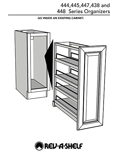 Rev-A-Shelf - 448-BC-5C - 5 in. Pull-Out Wood Base Cabinet Organizer by Rev-A-Shelf (Image #7)