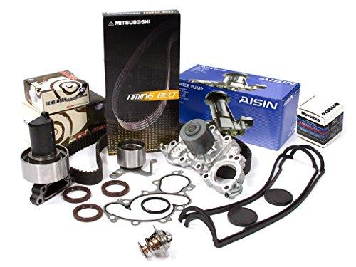 (Evergreen TBK154MVCACT Fits Toyota 3VZE V6 Timing Belt Kit Valve Cover Thermostat Water Pump )
