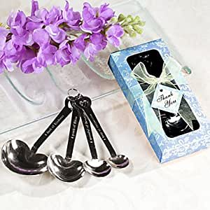 INFINITY-1201 Love Beyond Measure Spoons in Blue Gift Box