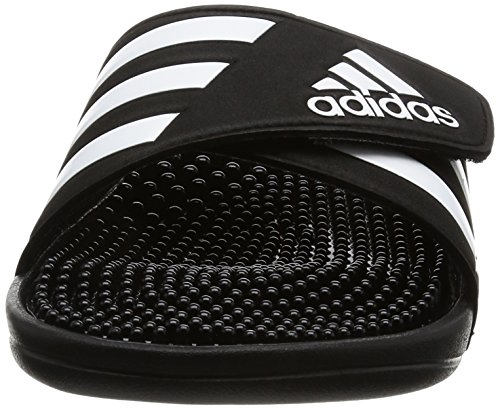 Adidas Pour Homme Sandales Noir Fade Blanc Adissage vqzHvWa