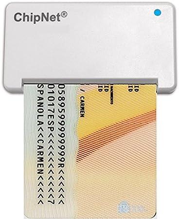 lector dni electronico MAC y WINDOWS (Optimizado para Nuevo EDGE) * Funciona en Catalina * ChipNet iBOX Plus - TELETRABAJO-FNMT - LEXNET -CAT- MAC y WINDOWS -Empresa Española Soporte Posventa