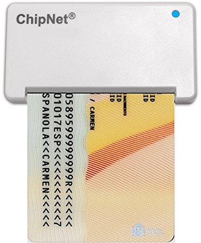 Lector DNI para MAC (Funciona en Catalina 10.5) -ChipNet iBOX Plus - DNie y DNI3.0.- Uso Optimizado en Windows y Linux.-Empresa Española .Soporte ...