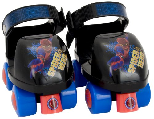 Marvel Spider-Man Junior Skate Combo with Knee Pads (6-9 Junior)