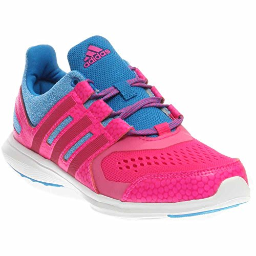 brand new 29a1d 501a7 Galleon - Adidas Performance Hyperfast 2.0 K Running Shoe (Little Kid Big  Kid),Shock Blue Shock Pink Bold Pink,4.5 M US Big Kid