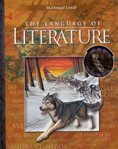 McDougal Littell Language of Literature California: Student Edition Grade 6 2002