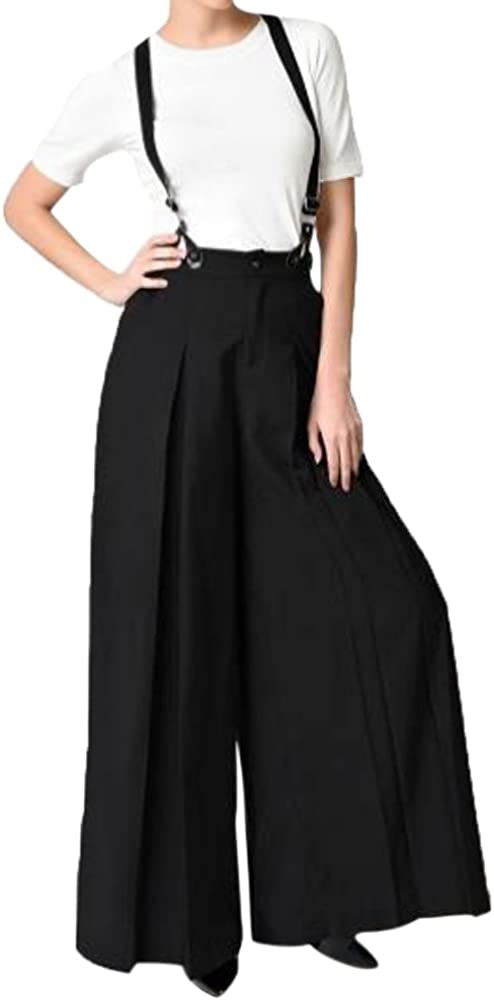 Vintage High Waisted Trousers, Sailor Pants, Jeans LISTHA Striped Polka Dot Wide Leg Pants for Women Plus Size Palazzo Trousers $15.99 AT vintagedancer.com