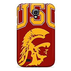 Samsung Galaxy S4 NFV6204aNcZ Support Personal Customs High-definition Usc Trojans Series Shock Absorbent Hard Phone Cases -AlissaDubois