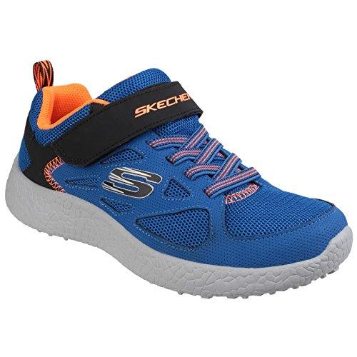 Skechers Power Sprints Sneaker Blau/Schwarz