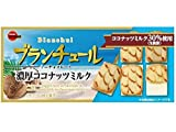 Bourbon Blanchul mini Chocolate cookies Rich coconut Milk flavor Limited Dagashi Snack Japan
