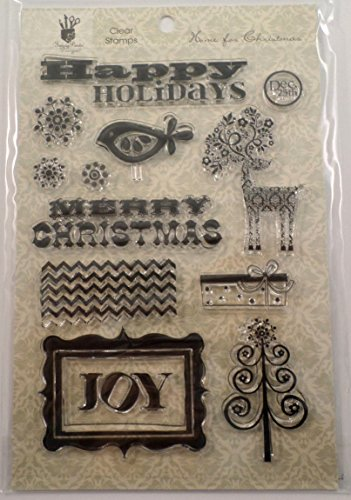 Fancy Pants Designs - Home for Christmas Collection - Clear Acrylic Stamps