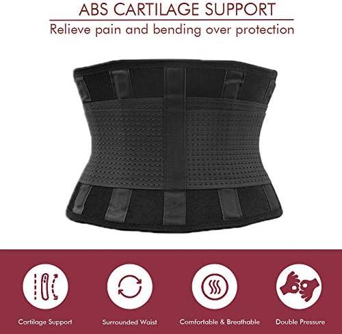 Attelle pour le bas du dos, ceinture de soutien lombaire pour femmes et hommes, ceinture ajustable pour le soulagement de la douleur au bas du dos, garde votre colonne vertébrale droite et sûre (grande)