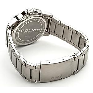 INTELIHANCE. 14100JS/01M - Reloj de Cuarzo para Hombre, Correa de Acero Inoxidable Color Plateado 3