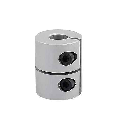 Fevas 4 PCS//LOT Aluminum Alloy 8mm to 8mm Jaw Flexible Shaft Coupling 8x8mm Coupler Diameter 20mm Length 30mm