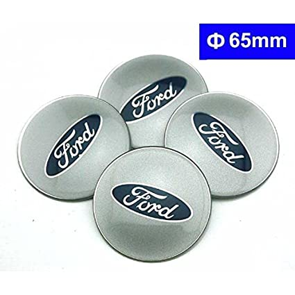4pcs C078 65mm Car Styling Accessories Emblem Badge Sticker Wheel Hub Caps Centre Cover FORD Focus 2 Focus 3 FIESTA F-150 Kuga FUSION ESCAPE EDGE