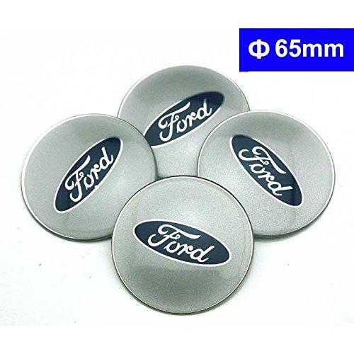 4pcs C078 65mm Car Styling Accessories Emblem Badge Sticker Wheel Hub Caps Centre Cover FORD Focus 2 Focus 3 FIESTA F-150 Kuga FUSION ESCAPE -