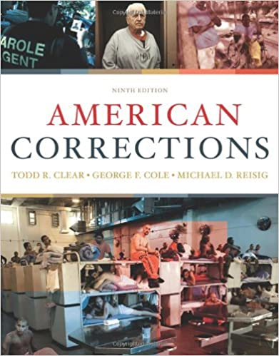 American corrections todd r clear george f cole michael d american corrections 9th edition fandeluxe Image collections