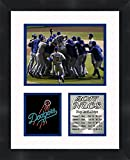 2017 MLB Los Angeles Dodgers National League Champions , 11 x 14 Matted Collage Framed Photos Ready to hang