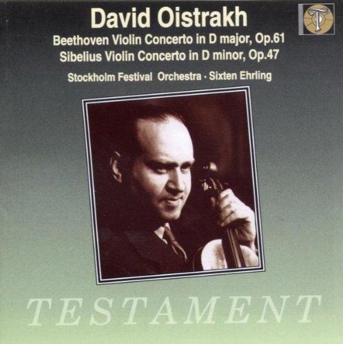 Beethoven; Violin Concerto in D Major Op. 61 / Sibelius: Violin Concerto in D Minor Op. 47