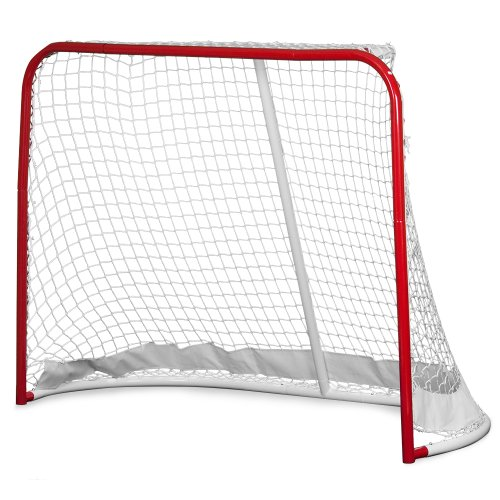 - Crown Sporting Goods Heavy Duty Hockey Goal, Large