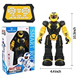 Suliper Remote Control RC Robot for Kids,Intellectual Gesture Sensor Programmable Robot with Infrared