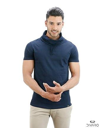 DIVARO - Camiseta BERLÍN - Disponible EN Color Burdeos, Gris ...