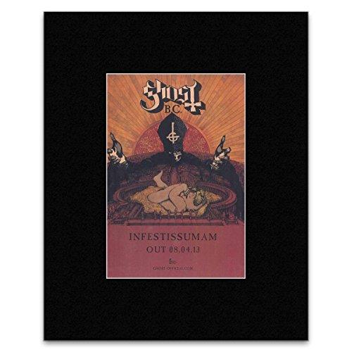 GHOST - 2013 Album Infestissumam Matted Mini Poster - 28x21cm