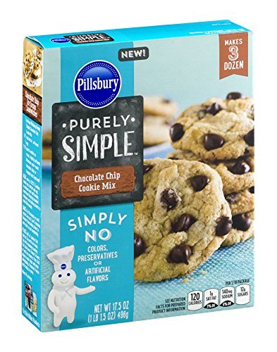 pillsbury-purely-simple-mixes-175oz-box-pack-of-3-choose-flavors-below-chocolate-chip-cookie-mix