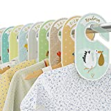 Baby Closet Dividers - 18 Wardrobe Organisers/Hangers - Arrange Clothes by Garment Type or Age - Best Set for Boys and Girls - Woodland/Safari / Farm Animal Theme - Cozy Hedgehog