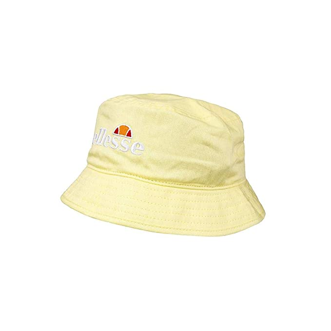 4eb98a4ef6 Ellesse Mens Bino Tender Yellow Bucket Hat - One Size: Amazon.com.au ...