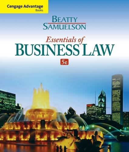 Cengage Advantage Books: Essentials of Business Law (Business Advantage Students compare prices)