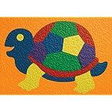 Lauri Crepe Rubber Puzzle - Turtle