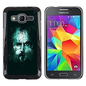 TECHCASE**Cubierta de la caja de protección la piel dura para el ** Samsung Galaxy Core Prime SM-G360 ** Jesse Walter Two Face Meth Cooks