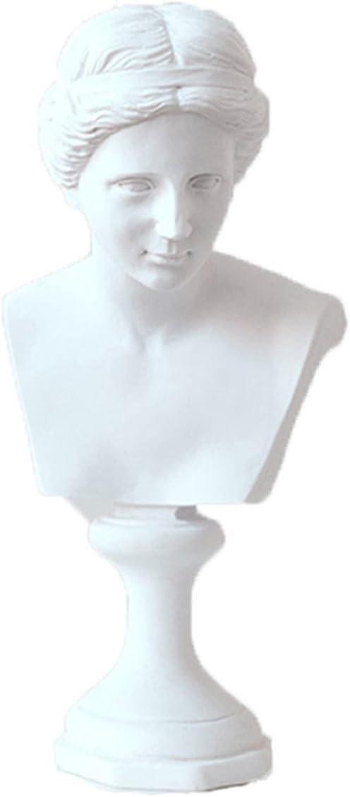 """ECYC 6"""" Venus de Milo Replica Aphrodite Greek Goddess Bust Statue Home Decor Souvenirs"""