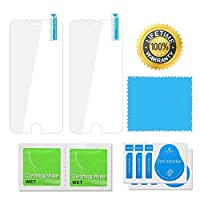 (2 Pack) iPhone 6 Plus Screen Protector, [0.3mm - Tempered Glass] [3D Touch Compatible ] [ High Definition ] for iPhone 6 Plus and iPhone 6s Plus 5.5 INCH from KINGBACK